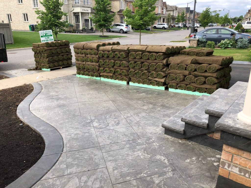 new sod grass delivery in vaughan ontario